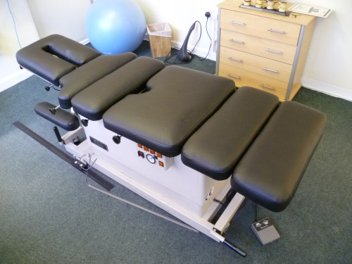 Osteopath Bench after recovering